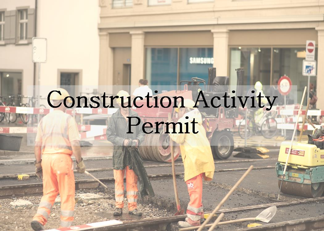 Construction Activity Permit
