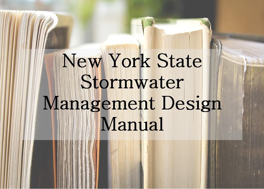 New York Stormwater Design Manual
