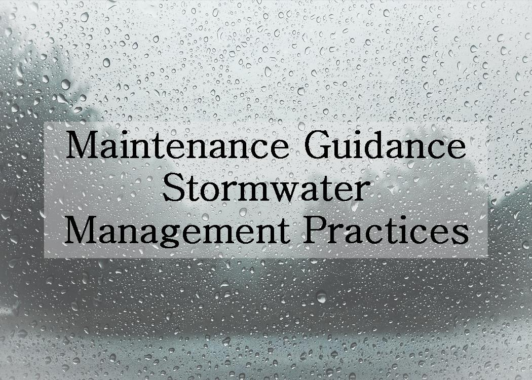 Maintenance for Stormwater Management